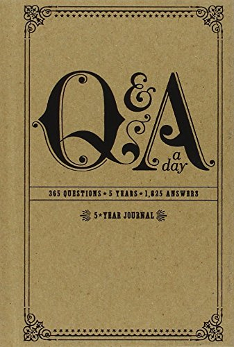 Q&A a Day: 5-Year Journal PDF