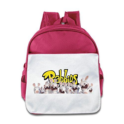 Rabbids Invasion Costume (MoMo Unisex Rabbids Invasion Children Backpacks Bags For Little Kids)