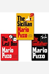Mario Puzo The Godfather Collection 3 Books Set (The Last Don, The Sicilian and The Godfather)