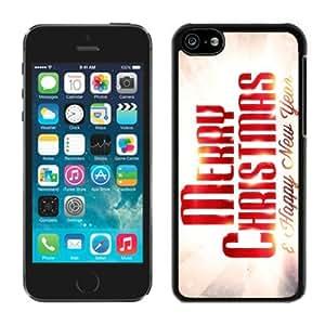 Best Buy Design Iphone 5C TPU Case Merry Christmas Black iPhone 5C Case 81