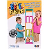 Strictly Briks Brik Buster Tower Toppling Game Patent Pending | Stack'em High Then Bust'em Down! | Award Winning Game Created by Kids for Kids | Fun for All Ages 3+ | 1+ Players | 133 Brick Pieces