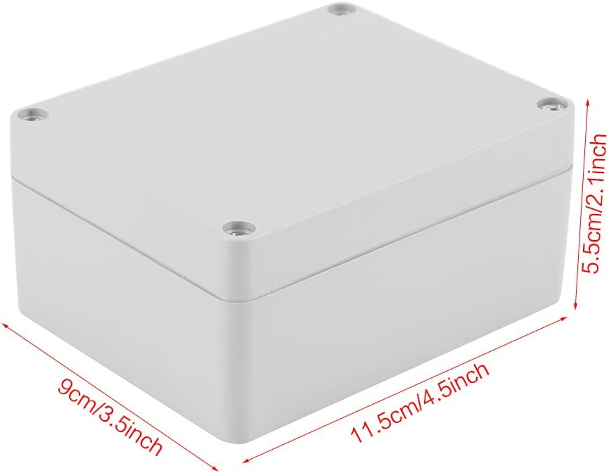 Akozon Caja de Conexiones IP65 Impermeable BS Electrical Project Caja de Instrumentos(115 * 90 * 55mm): Amazon.es: Iluminación
