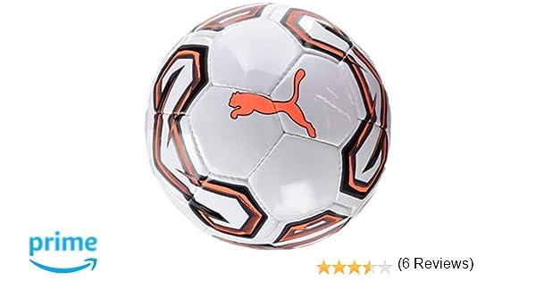 Puma Futsal 1 Trainer Balón de Fútbol, Hombre, White/Shocking ...
