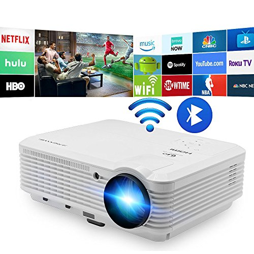 LED Android WiFi Bluetooth, Video Projector Max 200