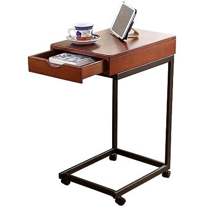 Avec Tiroir Salon Amovible Balcon Petite Table Basse Simple