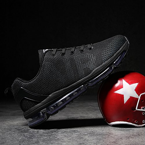 Fashion Sports Shoes Athletic for Men Trainer Air Mens Black Shoes Sneakers Shoe Running Cushion 6XqUwZw