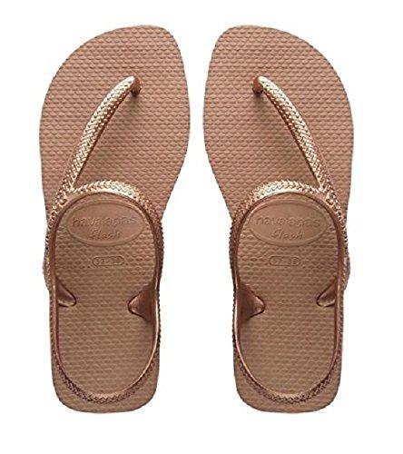 Zapatos dorados Havaianas infantiles LljKxBG2M