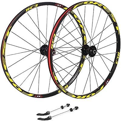 Knoijijuo 27,5 Ruedas de Ciclo Pulgadas, Bicicleta de Doble Pared ...