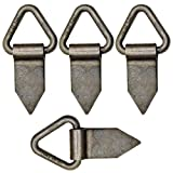 Heavy Duty Fold Over Tie Down Lashing Eye / Anchor Point Self Colour (PACK OF 4)