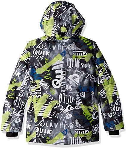 6f6b3347e8ff Quiksilver Boys  Big Mission Printed Youth 10k Snow Jacket ...