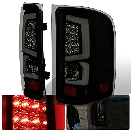 AJP Distributors New Generation Replacement LED C-Streak Tail Lights For Chevy Silverado (Smoke)