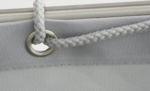 Flora Cord 12–90/30'07 Balcony Screen 90x 300cm Polyester Accessories Grey Floracord 12-90-30-07