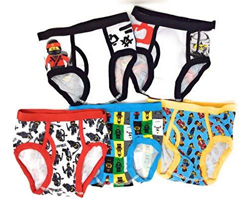 Boys Ninjago 5pk Classic Briefs - 6