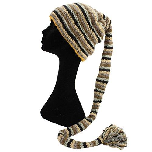 para Black Gorro hombre Hats de Grey Browns Loud punto Rayas Light Pa5q0F