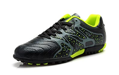 bd6f8c69759 Image Unavailable. Image not available for. Colour  Tiebao Professional  Soccer Shoes Teenagers Sports Men Football Boots TF Turf Soles ...