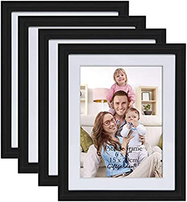 Pleasant Giftgarden 6X8 Inch Wall Hanging Picture Frame For Home Decor Photo 8X6 Set Of 4 Pcs Download Free Architecture Designs Scobabritishbridgeorg