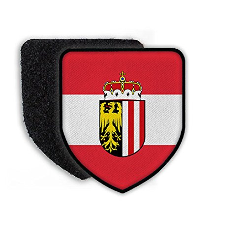 Flag of Austria country national coat of arms - Patch/Patche