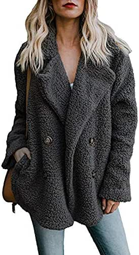 NOMUSING Coat for Women Winter Casual Jacket Winter Warm Parka Outwear Ladies Overcoat Outerwear Tunic