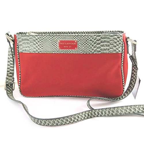 Shoulder bag Ted Lapidusgrigio rosso.
