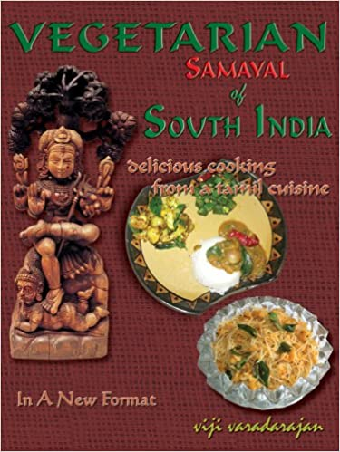 Vegetarian samayal of south india delicious cooking from a tamil vegetarian samayal of south india delicious cooking from a tamil cuisine viji varadarajan 9788190287616 amazon books forumfinder Image collections