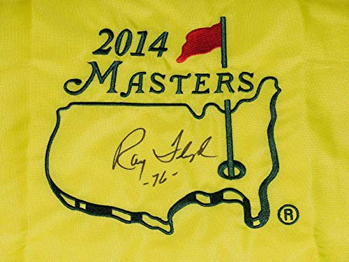 Ray Floyd Autographed Masters Golf Flag (1976 Winner) - W/Coa! - Autographed Golf Pin Flags
