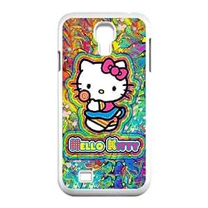 Samsung Galaxy S4 9500 Cell Phone Case White Hello Kitty Fyyeq