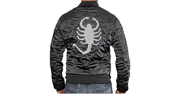 Drive Scorpion Jacket Black Ryan Gosling - Chaqueta Escorpión Drive Negro Ryan Gosling (XL, Negro): Amazon.es: Ropa y accesorios