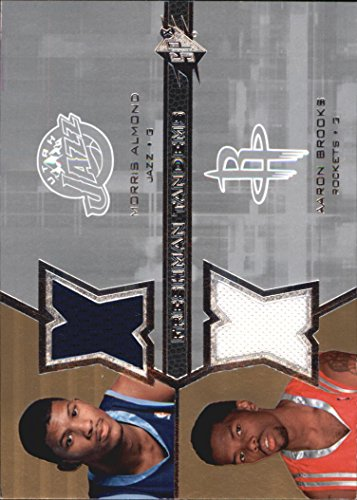 Ab Almond (2007-08 SPx Freshman Orientation Tandems #AB Morris Almond Aaron Brooks Jersey - NM-MT)