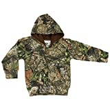Mossy Oak Camo Infant Full Zip Hoodie in Break-up