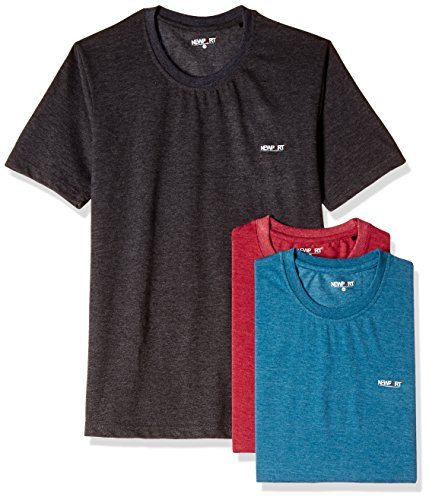 Newport Men's Synthetic T-Shirt (Pack of 3)