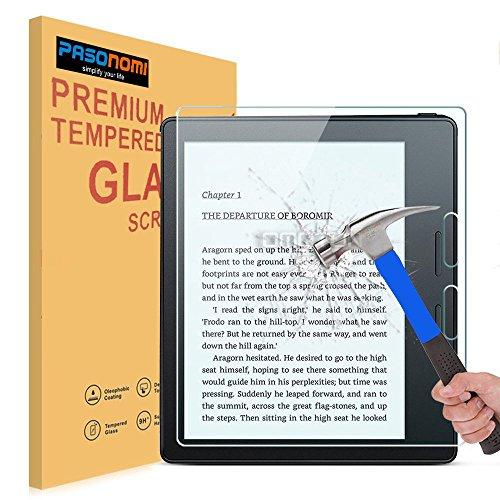 Kindle Oasis Schutzfolie, Pasonomi® HD Anti-Kratz Glas Folie Schutzfolie gehärtetem Glas Displayschutz für Kindle Oasis