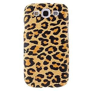 JOE Leopard Grain Pattern Hard Plastic Back Cover Case for Samsung Galaxy S3 I9300