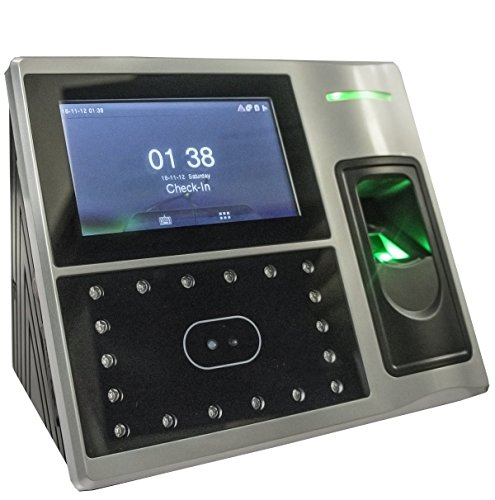 AMG FR-2000 Face Recognition/Fingerprint/RFID Card - Time Clock (Best Face Recognition Time Clock)