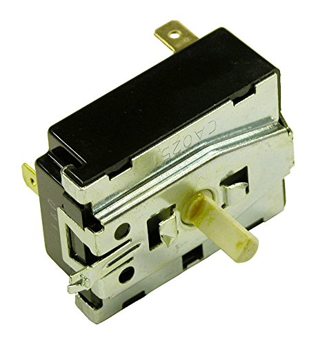 Frigidaire 134398300 Dryer Rotary Start Switch Genuine Original Equipment Manufacturer (OEM) part for Frigidaire, Kenmore, Crosley, & White-Westinghouse