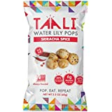 Taali - Water Lily Pops | Protein-Rich Roasted Snack | Non GMO Verified - 2.3 oz Multi-Serve Bags (4-Pack, Sriracha Spice)