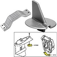 Tecnoseal Anode Kit w3/Hardware - Yamaha 150-200HP Left Hand Rotation - Zinc