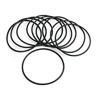 10x 4 x 1.3mm Silicone 70 O/'Ring