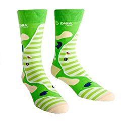 Fore! Watch out for these fashion-forward golf socks as they make their way down the green. Obviously they're a fashion hole-in-one. We know argyle is the traditional sock of golf, but we thought we'd take a swing at it by hitting it from ano...