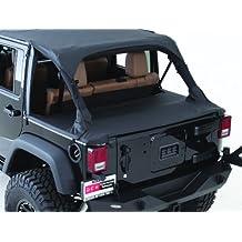Smittybilt 761135 Black Diamond Tonneau Cover for Jeep LJ