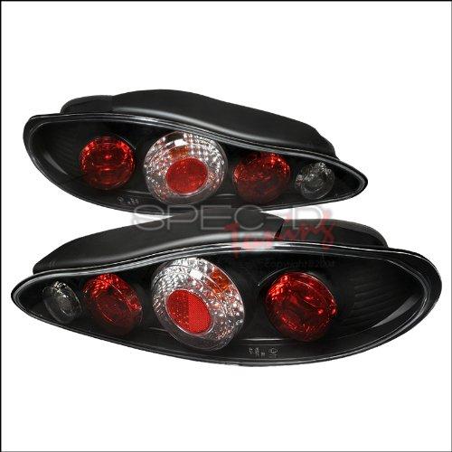 Spec-D Tuning LT-TIB97JM-APC Hyundai Tiburon 2Dr Black Altezza Tail (Hyundai Tiburon Tuning)