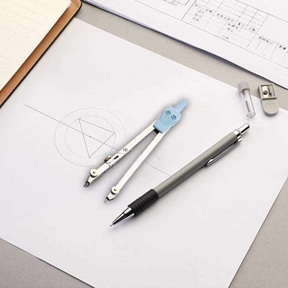 Schulbedarf Werkzeug Kompass-Geometrie-Set Kreise Zeichnen Edelstahl Mathematik Geometrie multifunktional Kompass langlebig