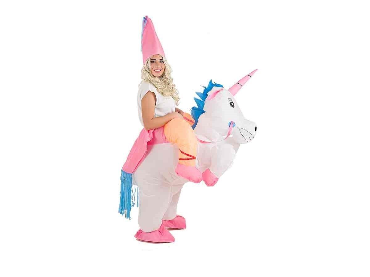 Creaciones Llopis- Disfraz Adulto Hinchable Unicornio con ...