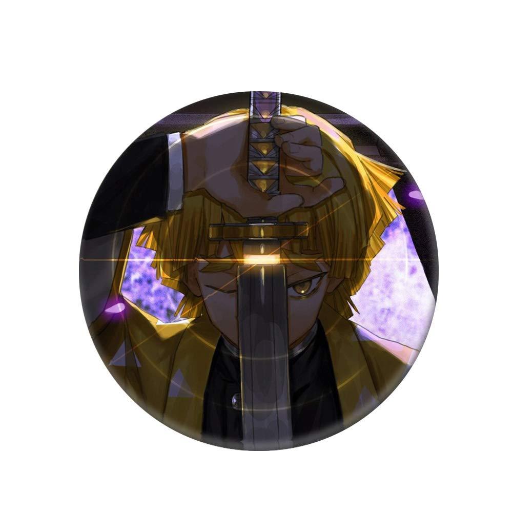 H01 SGOT Abzeichen Anime Demon Slayer Kimetsu no Yaiba Cosplay Kamado Tanjirou Kamado Nezuko Wei/ßblech Brosche Pins Sammlung Taschen Abzeichen f/ür Rucks/äcke