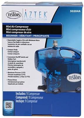 Testors Mini Airbrush Compressor, Blue