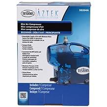 Testors 50204A Mini Airbrush Compressor, Blue