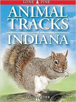 Book Animal Tracks of Indiana (Animal Tracks Guides)