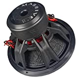 Massive Audio SUMMOXL154-15 Inch Car Audio 3000 Watt SUMMOXL Series Competition Subwoofer, Dual 4 Ohm, 2 Inch Voice Coil. Sold Individually.