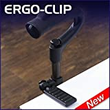 ErgoClip- Crutch & Cane Surface Grip & Holder Device