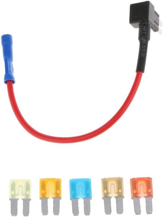 Baoblaze Micro 2 Sicherung Tap Halter Audio Video Montage Kit 5pcs 5a 7 5a 10a 15a 20a Sicherung Auto