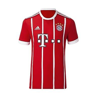 best service 81a6c a50b9 Adidas FC Bayern Munich Home Replica Jersey Men's Soccer ...